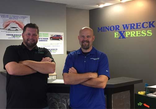 Minor Wreck Express, Johnston, Iowa